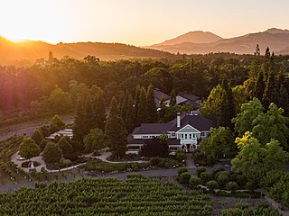 winery in Napa Valley of California