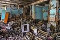 Duga radar system- wreckage of electronic devices (26826471019).jpg