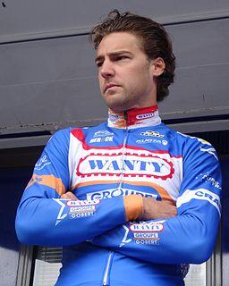 Laurens De Vreese Road racing cyclist
