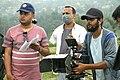 During the shooting of Ram Piyari.jpg