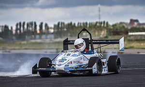 Formula Student - The 13th car of DUT Racing, the Formula Student team from the Delft University of Technology