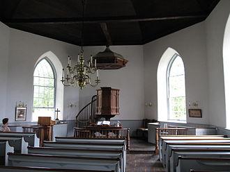 Old Dutch Church of Sleepy Hollow - Interior of the Old Dutch Church