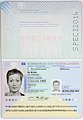 Dutch passport specimen issued 9 March 2014.jpg