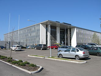 Finnish Meteorological Institute - Dynamicum, the building where the Finnish Meteorological Institute is located Helsinki.