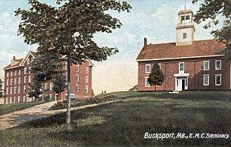 Bucksport, Maine - Image: E. M. C. Seminary, Bucksport, ME
