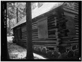 EAST SIDE - Paulina Lake IOOF Organization Camp, Cabin No. 5, Deschutes National Forest, La Pine, Deschutes County, OR HABS ORE,9-LAPI.V,1B-3.tif