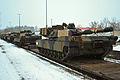 EAS M1A2s arrive in Grafenwoehr (12234867406).jpg