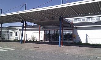 Joensuu Airport - Image: EFJO terminal 20110522