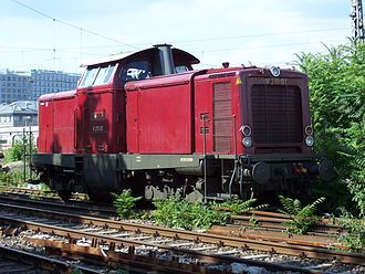 Dahlerau train disaster - V100 engine, the same type as used on the freight train