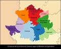 ES-CC-COM-00-Mapa de comarcas de Caceres.png