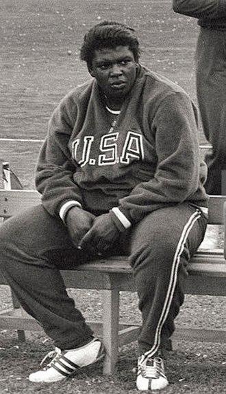 Earlene Brown - Earlene Brown at the 1960 Olympics