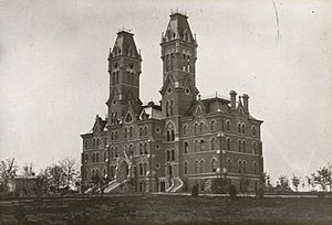 Jeff Davis (Arkansas governor) - Main Building as it would've appeared when Davis attended Vanderbilt Law School in 1880