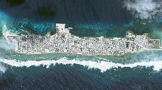 Ebeye Island island in the United States of America