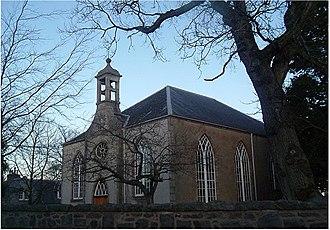 Echt, Aberdeenshire - Echt church, built 1804
