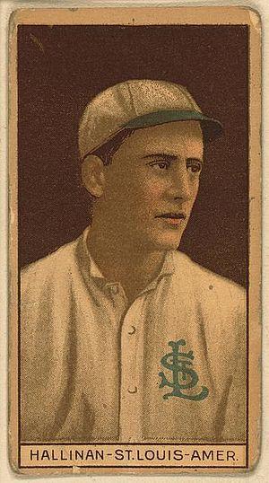 Ed Hallinan - Image: Ed Hallinan baseball player 1912