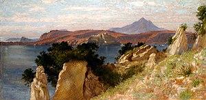Edith Corbet - Cicero's Villa and the Bay of Baiae, 1909