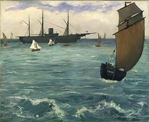 The Kearsarge at Boulogne
