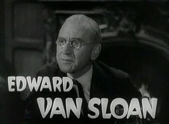 Edward Van Sloan - Van Sloan as Van Helsing in Dracula's Daughter (1936)