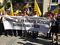 Egitim SEN Education Union protesting about the changes to the national curriculum, Sep 18, 2017.jpg