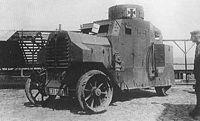 Niemiecki samochód pancerny