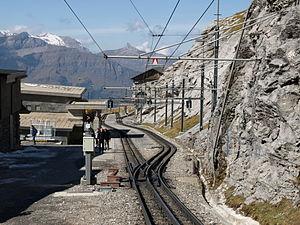 Eigergletscher railway station & Eigerwand railway station - WikiVisually