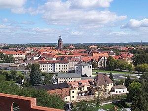 Eilenburg - Image: Eilenburg vom Burgberg