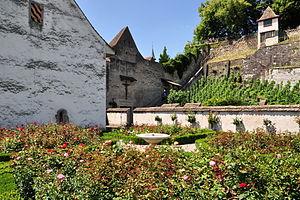 Rapperswil Rose Gardens - The neighbouring garden at Einsiedlerhaus