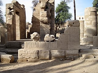 town and archaeological site in Egypt
