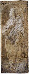 dibuix de Joan Evangelista per El Greco