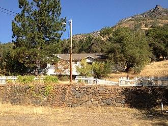 El Portal, California - The Old El Portal Schoolhouse