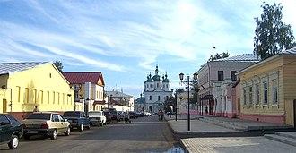 Yelabuga - Spasskaya Street