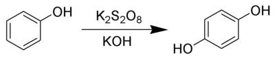 The Elbs persulfate oxidation