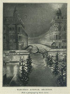 Electric Avenue - Electric Avenue in 1895