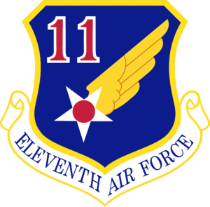Sparrevohn Air Force Station - Image: Eleventh Air Force Emblem