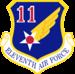 Undécima Fuerza Aérea - Emblem.png