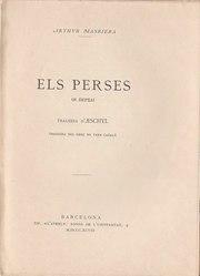 Èsquil: Els Perses