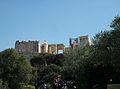 Els Propileus de l'Acròpoli d'Atenes des de baix.JPG