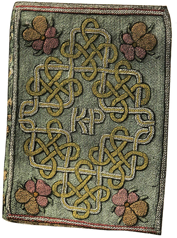 file embroidered bookbinding elizabeth wikimedia ForThe Miroir Or Glasse Of The Synneful Soul