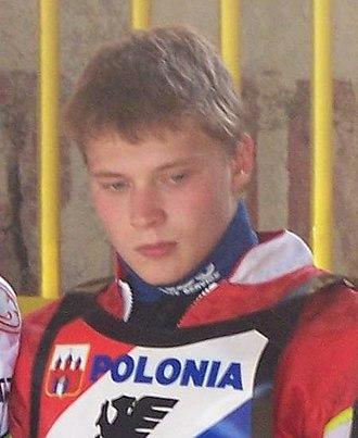 Emil Sayfutdinov - Sayfutdinov before an Ekstraliga match (30 July 2006)