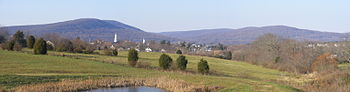 Emmitsburg, MD Panorama from US-15 Rest Area