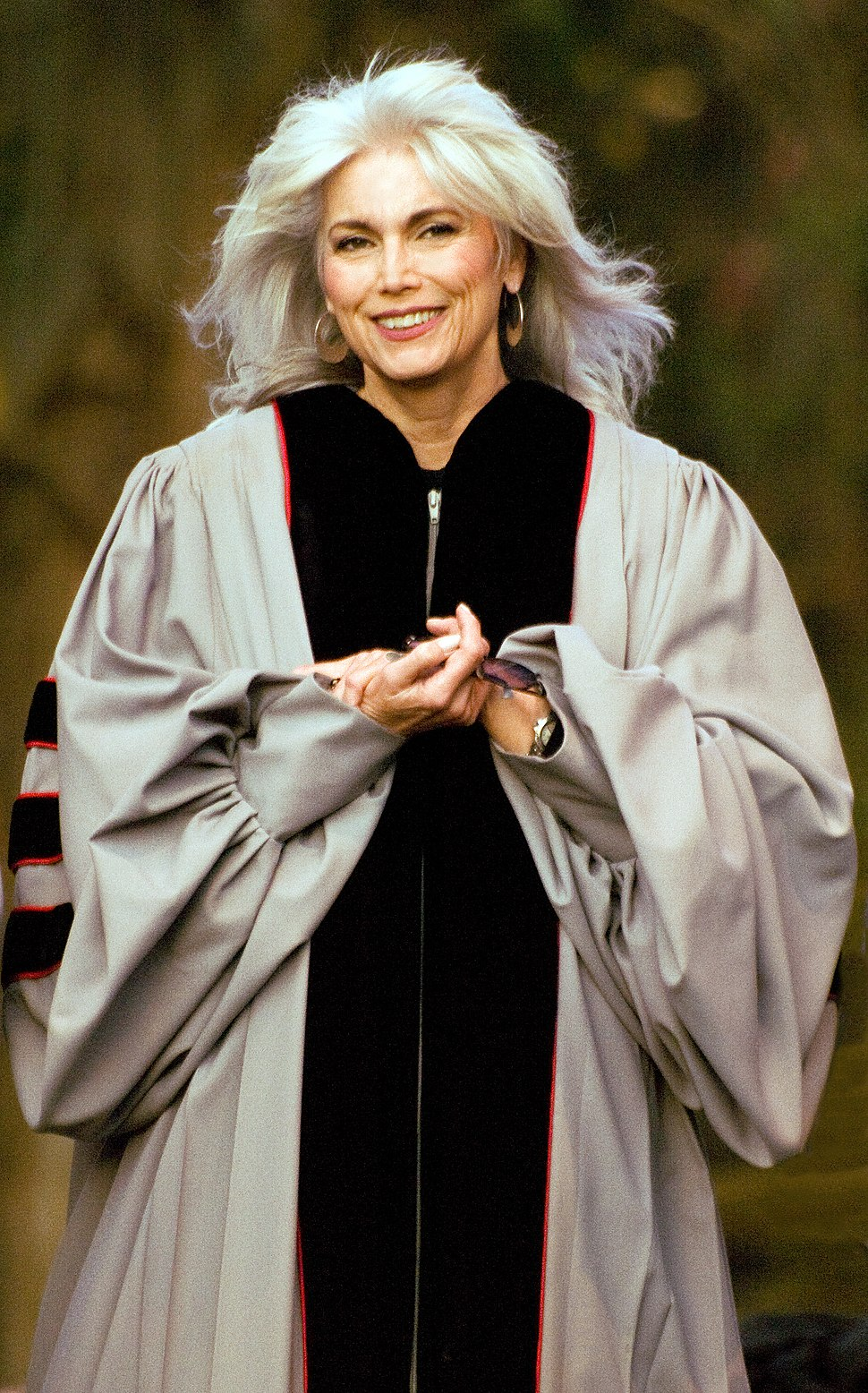 Emmylou Harris, Honorary Doctorate From Berklee Presentation, 2009