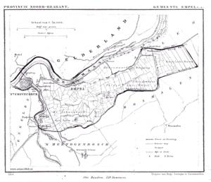Empel en Meerwijk - Empel en Meerwijk in 1868
