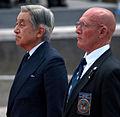 Emperor Akihito and Gene Castagnetti cropped Emperor Akihito and Gene Castagnetti 20090715.jpg