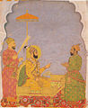 Emperor Farrukhsiyar Bestows a Jewel on a Nobleman.jpg