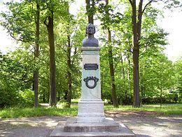 Denkmal in Meiningen, Jean Pauls Wohnort von 1801 bis 1803 (Quelle: Wikimedia)
