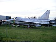 English Electric Lightning T.55 55-713 at MAM