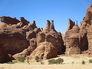 Ennedi Hoodoos in the Ennedi Mountains - northeastern Chad 2015.jpg