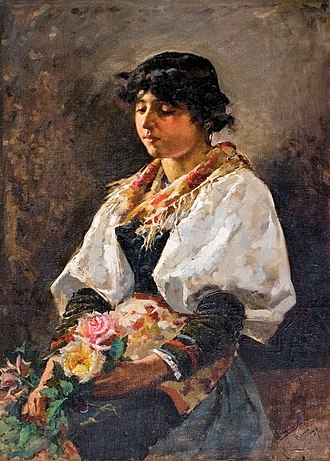 Ciociaria - Ciociara (woman from Ciociaria) by Enrique Simonet.
