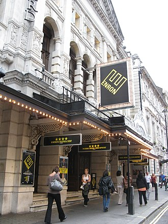 Enron (play) - Enron at the Noël Coward Theatre in London's West End