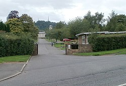 Entrance to Thornhill Cemetery and Crematorium.jpg